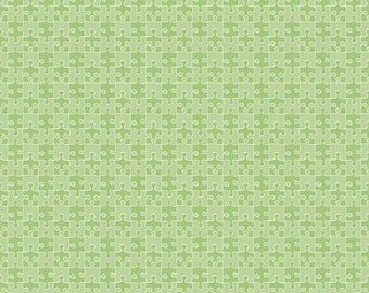 COUPON CODE SALE - Pieces of Hope 2, Puzzle, Green, Riley Blake Designs, 100% Cotton Quilt Fabric, Tonal, Autism Awareness, Quilting Fabric