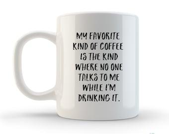 Unique Funny Coffee Mug, Tea Mug, Coffee Cup, Ceramic 11, Quote, Saying, Typography, Gift, Dad, Employee, Personalized, Custom, artstudio54