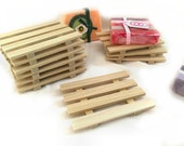 DOLLAR SOAP DISH Specail- 28 natural Poplar Wood Soap Dishes Just 1.00 each - limited quantities available