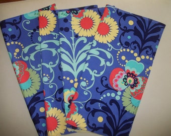 Cloth Napkin Set of 4 Mod Floral  Amy Butler Love Fabric