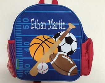 Personalized Stephen Joseph Mini Sidekicks Sports Backpack