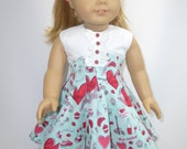 1950's dress for your American girl doll