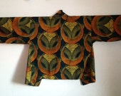 Reserved for Nimarkoh1 - Kimono Styled Jacket in Modern African Print