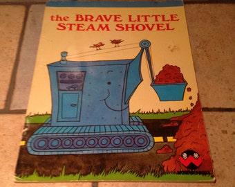 1979 The Brave Little Steam Shovel Children's Wonder Book