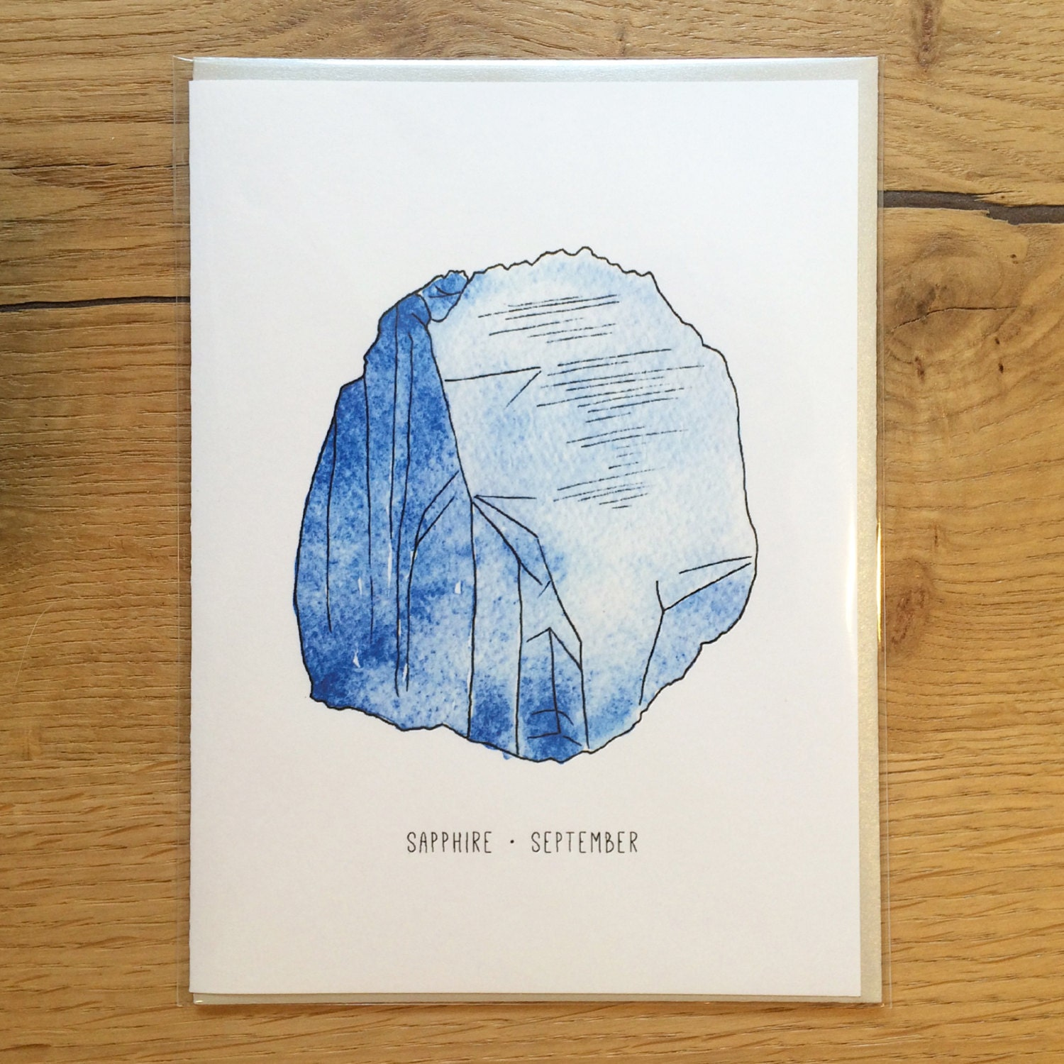 Birthstone Greeting Card