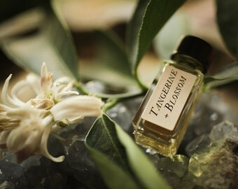 Tangerine + Blossom - Strange Companion Blend™ - Natural Perfume Oil with floral citrus, sweet and uplifting