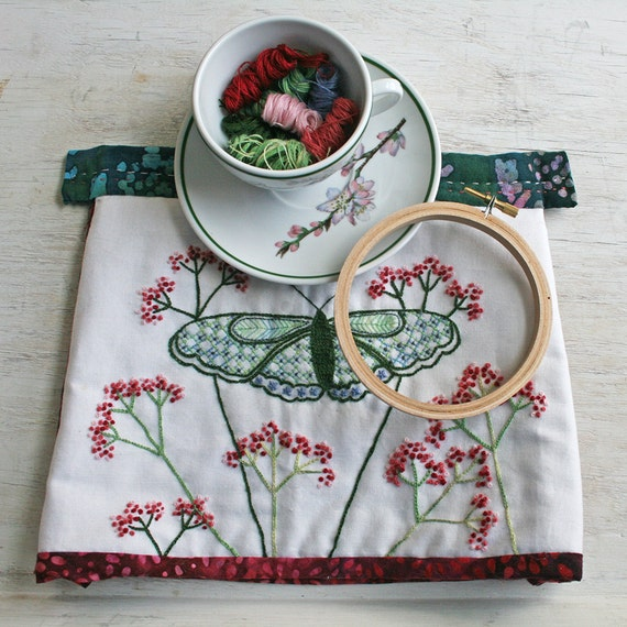 Crewel Embroidery Kit Diy Pattern Pdf Pdf Instant Download Tea Cozy