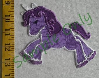 DIY Iron On Appliqué Patch - Unicorn
