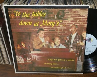 To The Tables Down At Mory's Vintage Vinyl Record