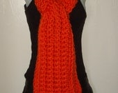 Unisex Winter Mountain Bulky Scarf/Hand Crocheted/Women's Accessories/Unisex Scarf/Fall Accessories/Teen's Scarf/Winter Scarf/Warm and Soft