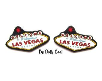 Las Vegas Sign Earrings by Dolly Cool