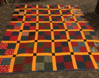Antique Quilt from the Late 1800s - Double Bed Size