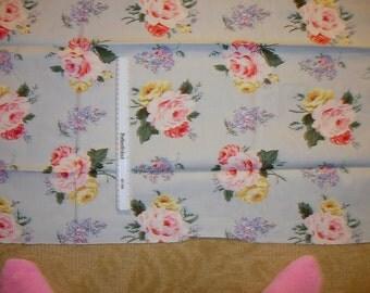 1 yard of Ralph Lauren Decorator Fabric with Flowers