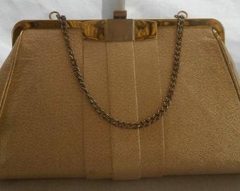 Vintage Gold Clutch/Purse