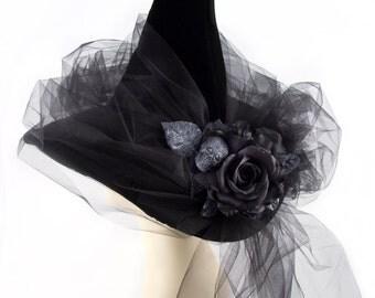 Black Magic Woman Witch Hat