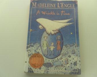 A Wrinkle in Time by Madeleine L'Engle vintage paperback vintage paperback
