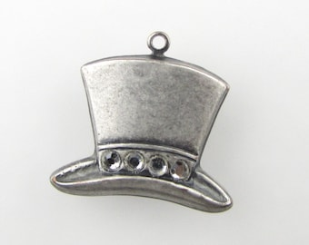 Unique Top Hat Charm Related Items Etsy