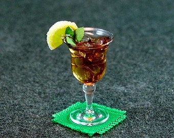 Mint Julep Sweet Tea  (1:12th Scale)