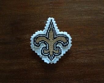 New Orleans Saints magnet/ornament
