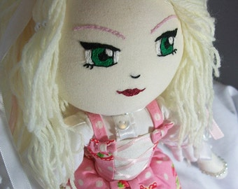 Sweet Lolita Strawberry Feilds Soft Cloth Dolls