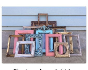 Picture Frame - Picture Frame Set - Shabby Chic Picture Frames - Picture Frames - Beach Decor - CHIC