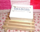 Pure and Natural Unscented Shea Butter/Goats Milk Soap