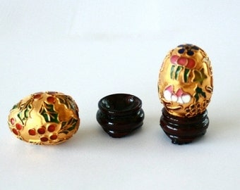Cloisonne Chinese Eggs