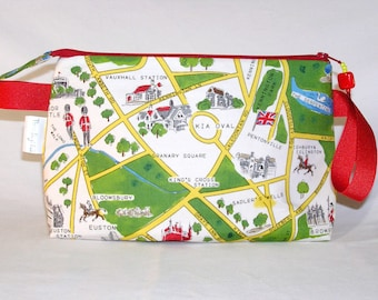 London Map Tall Mia Bag