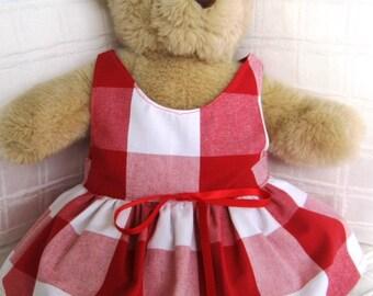 Teddy Bear Clothes, Lauren Dress
