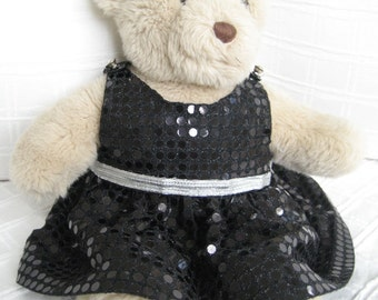 Teddy Bear Clothes, Belle Sequin Look Dress