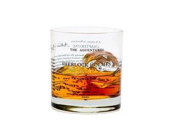 Sherlock Holmes - Literature Rocks Glass