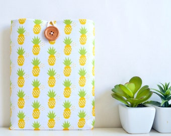 iPad Mini 4 Case, iPad Mini Retina Display Tablet, Kindle Touch, Amazon Fire 7 Case, Kindle Paperwhite Cover - Pineapples