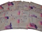 Pink Rainclouds PUL Pad Wrapper/ Mini Travel Wet Bag