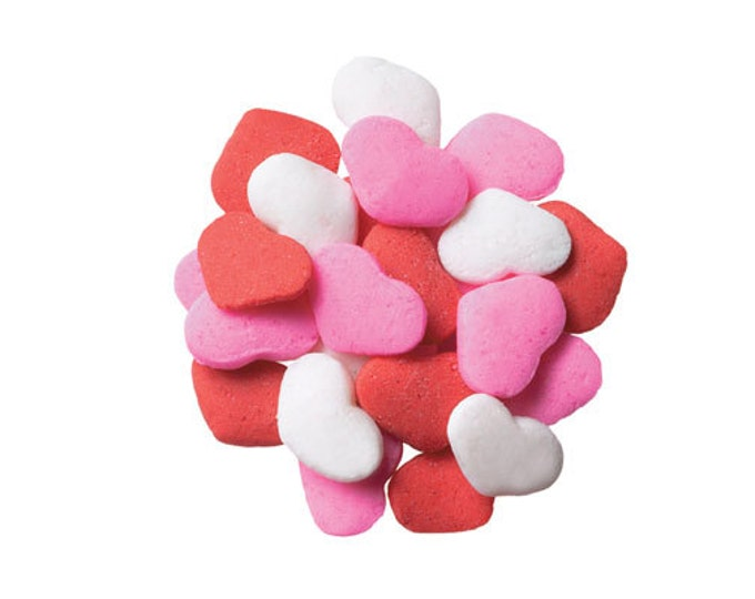 Red, White & Pink Heart Sprinkles
