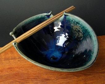 Stir Fry Rice Bowl With Chopsticks