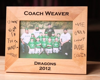 Personalized Photo Frame - Laser Engraved