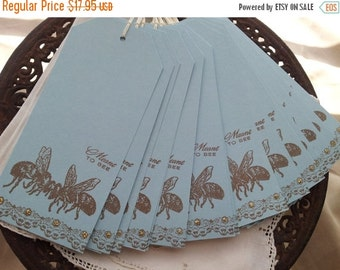 SALE Wedding Wish Tags Meant to Bee Set of 25
