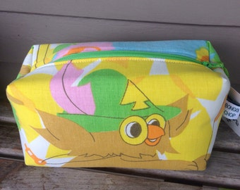 Woodsy Owl Zipper Pouch Recycled