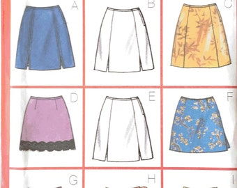 Butterick 5488 Sewing Pattern, Ladies Skirts, 12, 14, 16