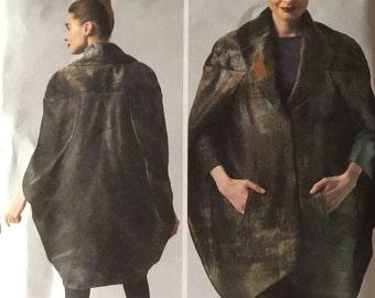 Vogue V1332 Sewing Pattern, Pamella Roland Design, 14-16-18-20-22, Ladies Jacket, Cocoon Shape