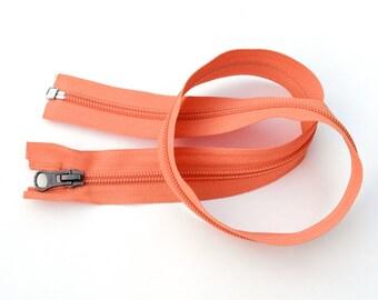Port & Sort Tote Kit - Light orange zipper+rectangular rings+magnetic snaps