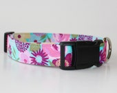 May Flowers Dog Collar