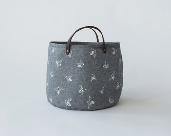 Small Bucket - Chambray Bees