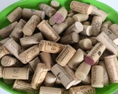 Wine Corks- Crafty Cork, Jewelry Making, Cork Board, Cork Coasters,  Wine Stoppers,  Wedding Decor, Natural Corks- BULK Quantity Discount