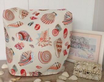 Sea Shells and Beach Theme Mixer Slipcover Ready To Ship