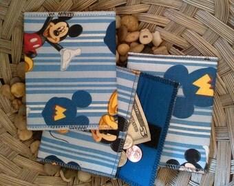 Card Holder, Change Purse, Wallet, Bag, Boys Wallet, Mickey