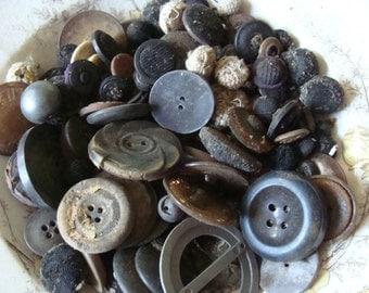 Antique Buttons .... Primitive Beauty