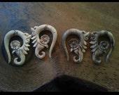Ear Plugs 00 Gauge White Nomad