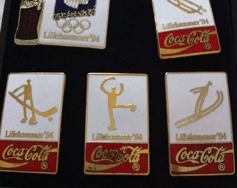 Lillehammer 1994 Coca Cola Olympic  Pictogram Trading pins