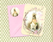 Easter, Greeting Cards, Happy Easter, Bunny, Rabbit, Holiday Greeting Cards, Stickers